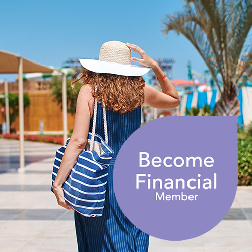 become financial member