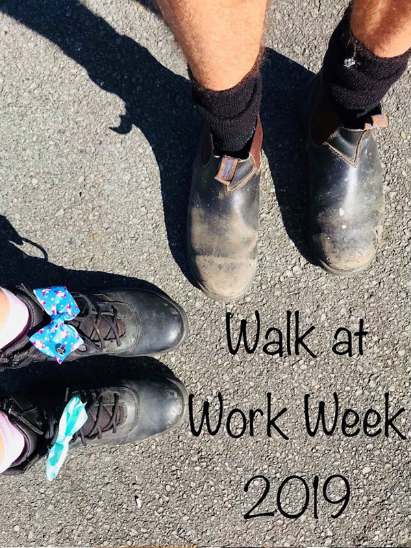 walk at work week 2019