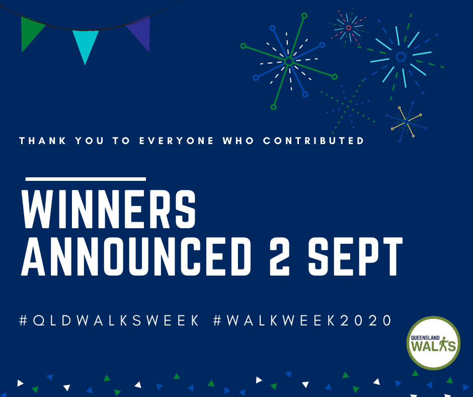 Winners announced Sept 2 Walk Week