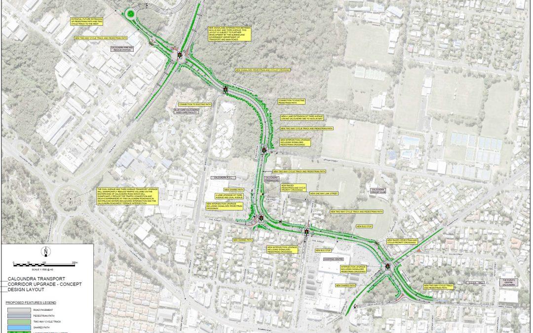 A walkable Caloundra transport corridor