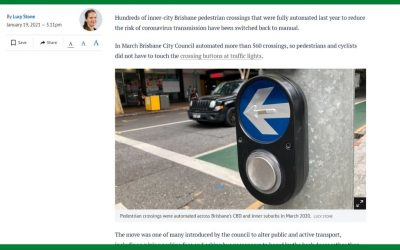 Automated pedestrian buttons