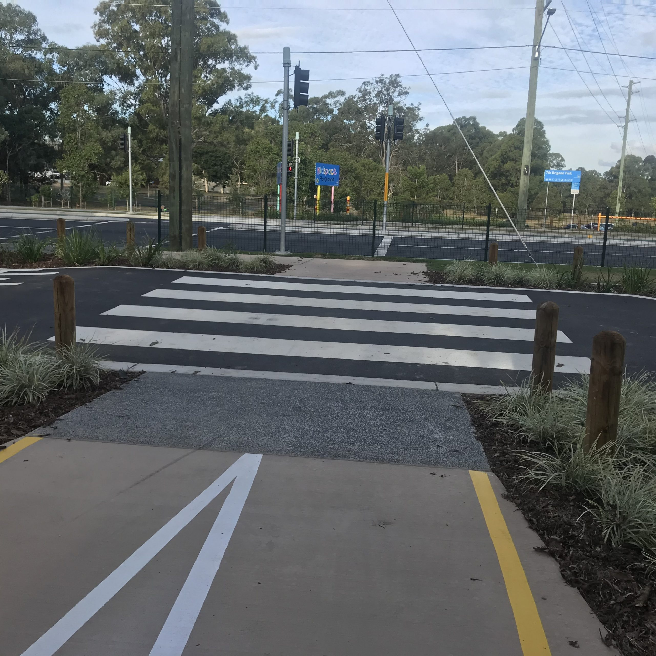 A good footpath or safe crossing