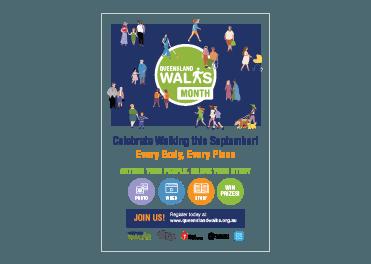 Queensland Walks Month 2021 Posters