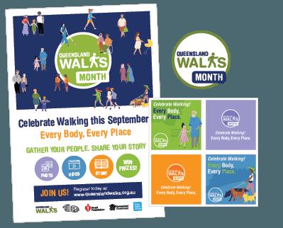 QLD Walk Month 2021 Resources